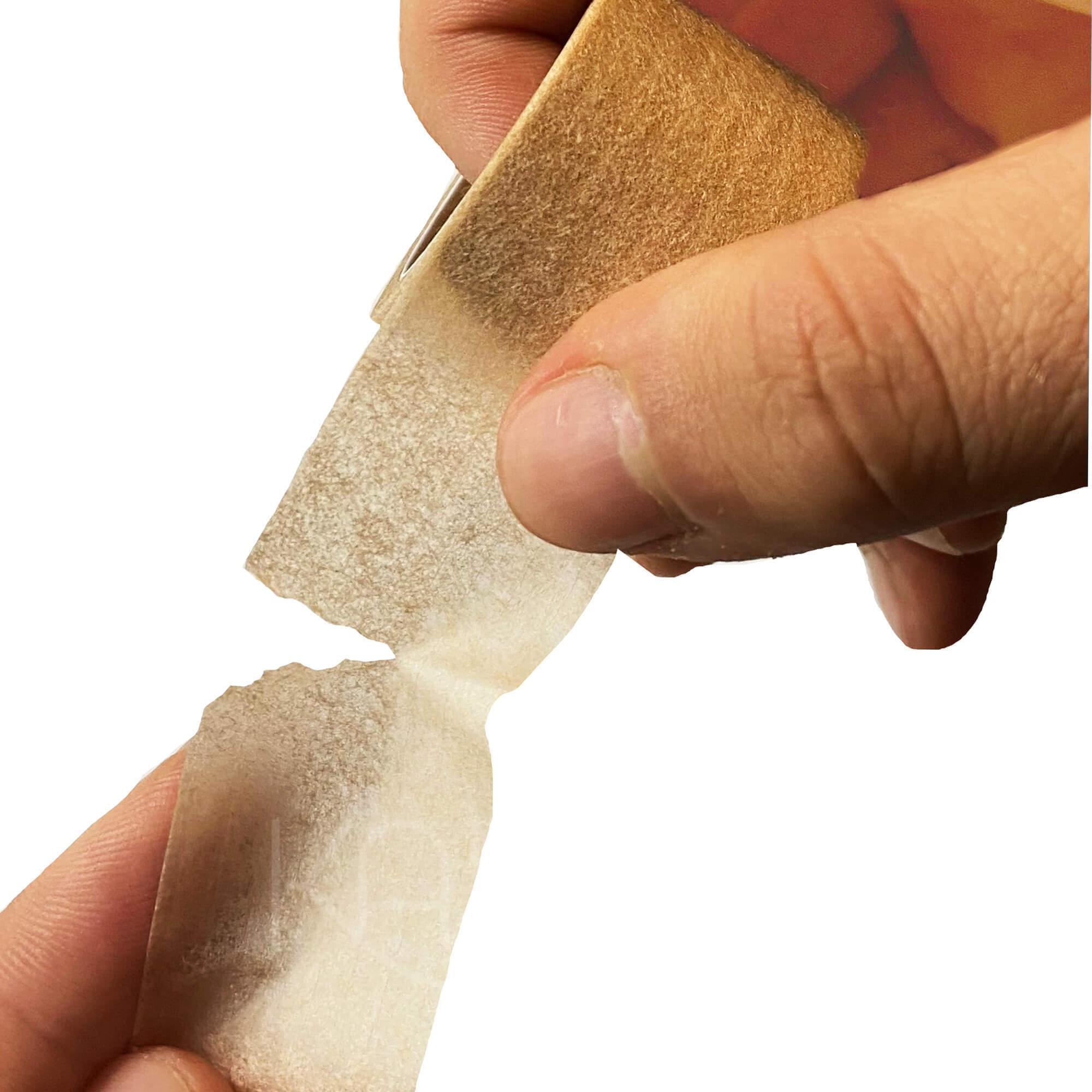 Пластырь на бумажной нетканой основе телесный 2,5х500 см  №12