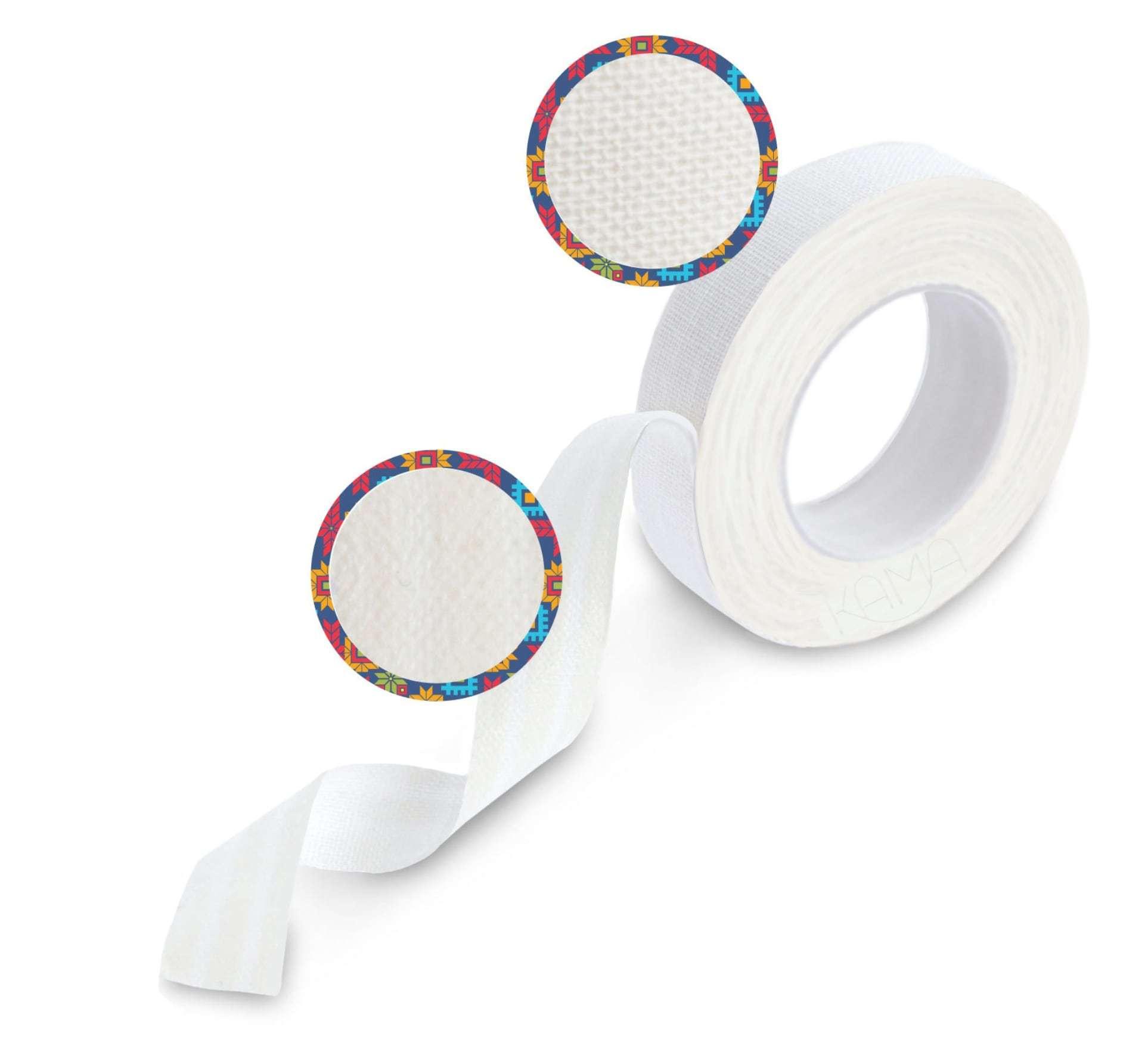Пластырь на тканевой основе белый 1,25х500 см