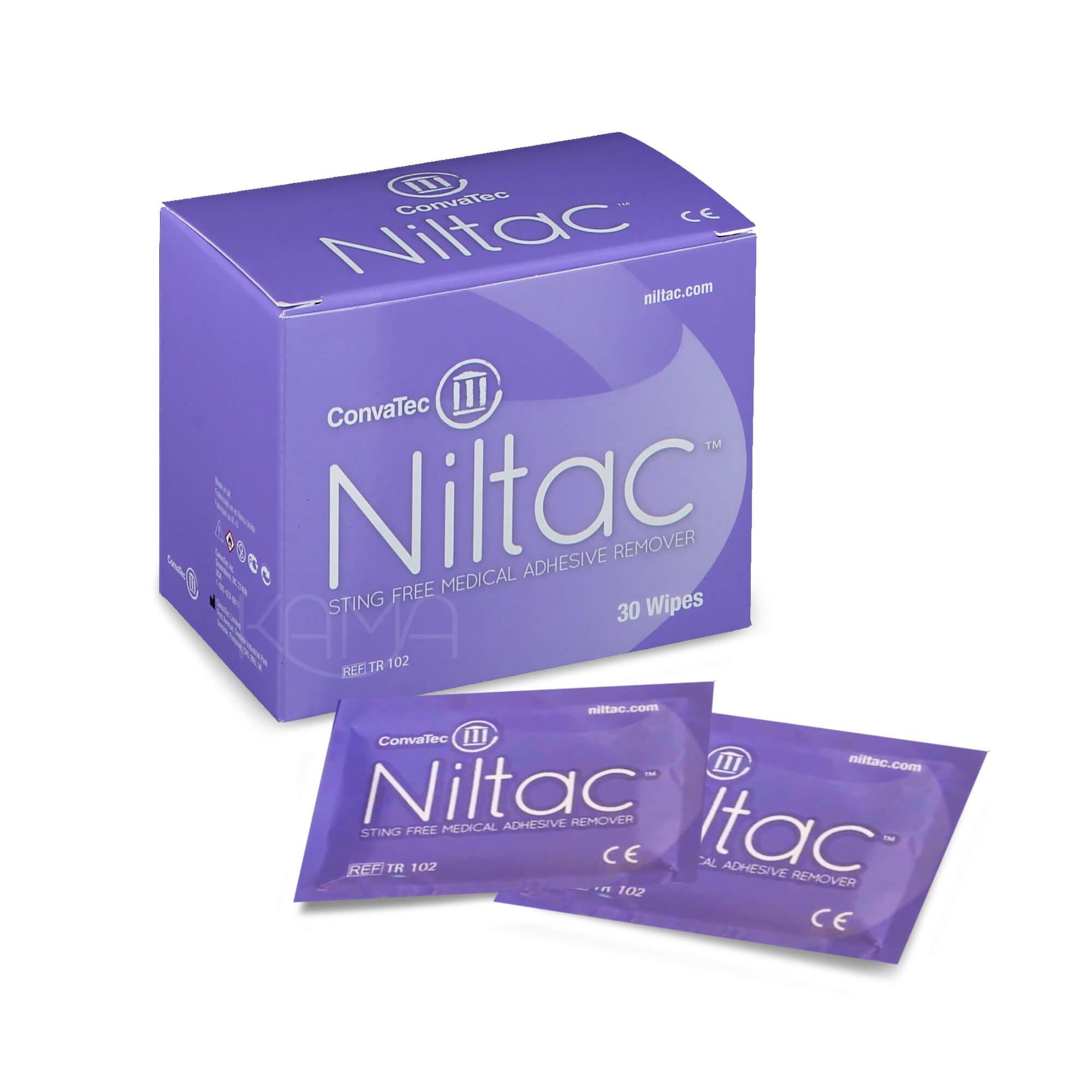 Салфетка-антиклей Нилтак для удаления адгезива с кожи 12х16 см