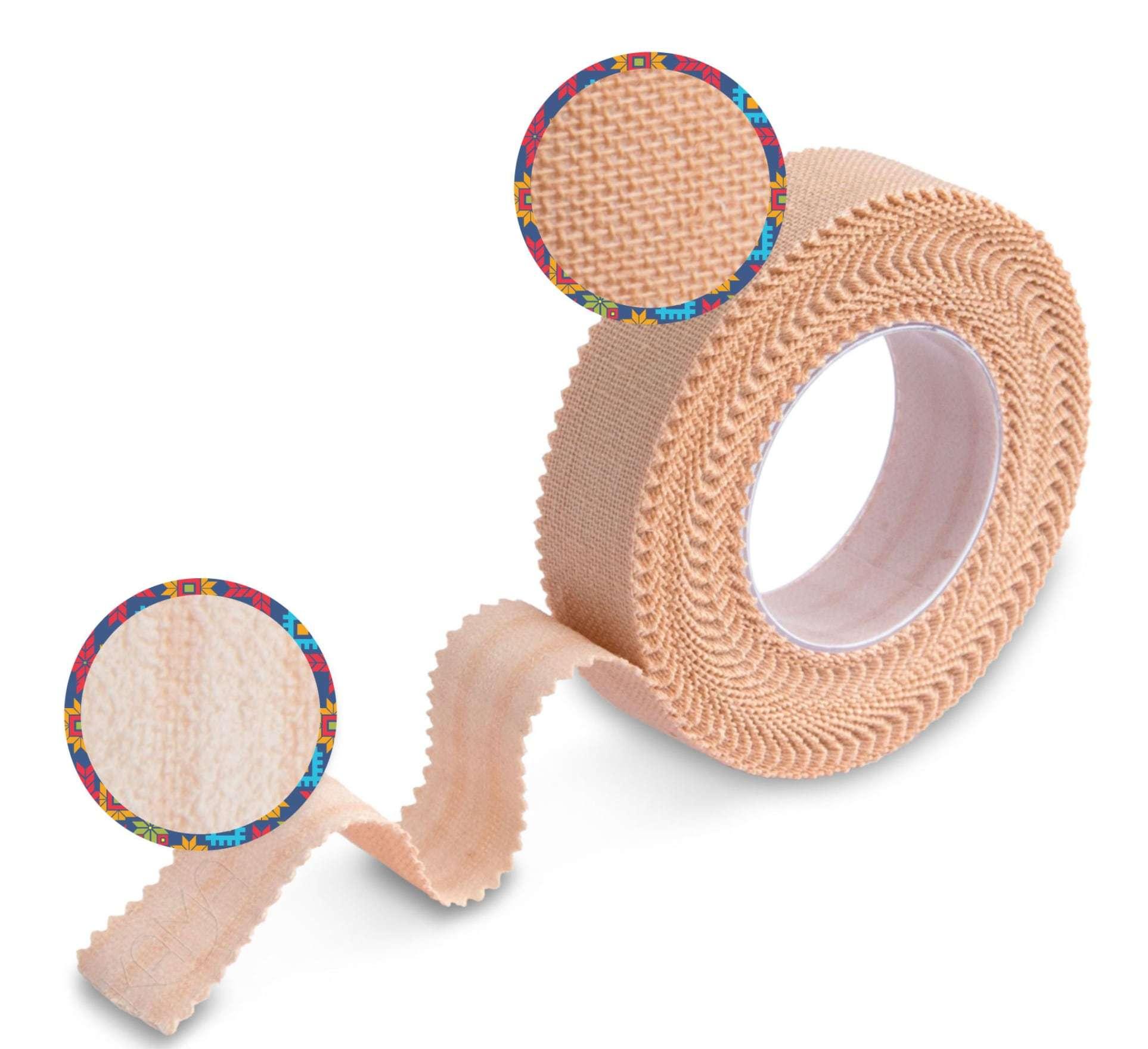 Пластырь на тканевой основе телесный 4х500 см