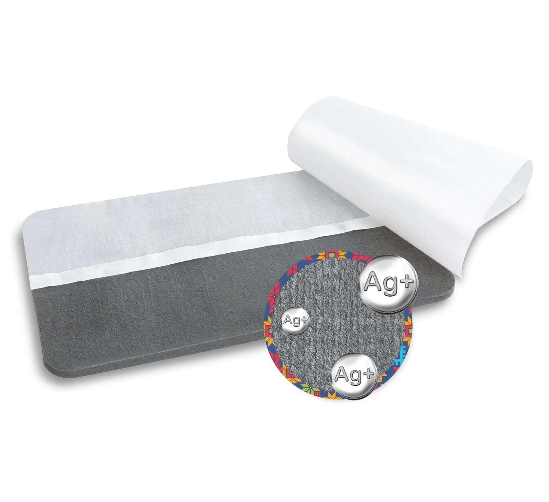 Повязка ЛикоСорб с серебром 10х15 см