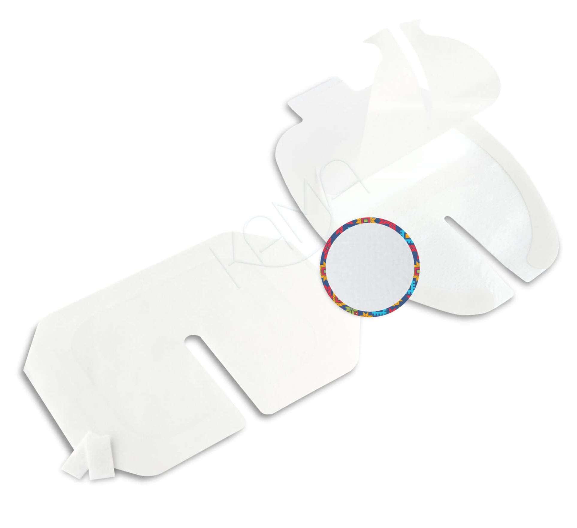 Повязка прозрачная для фиксации катетеров АйВи-Филм 6x7 см
