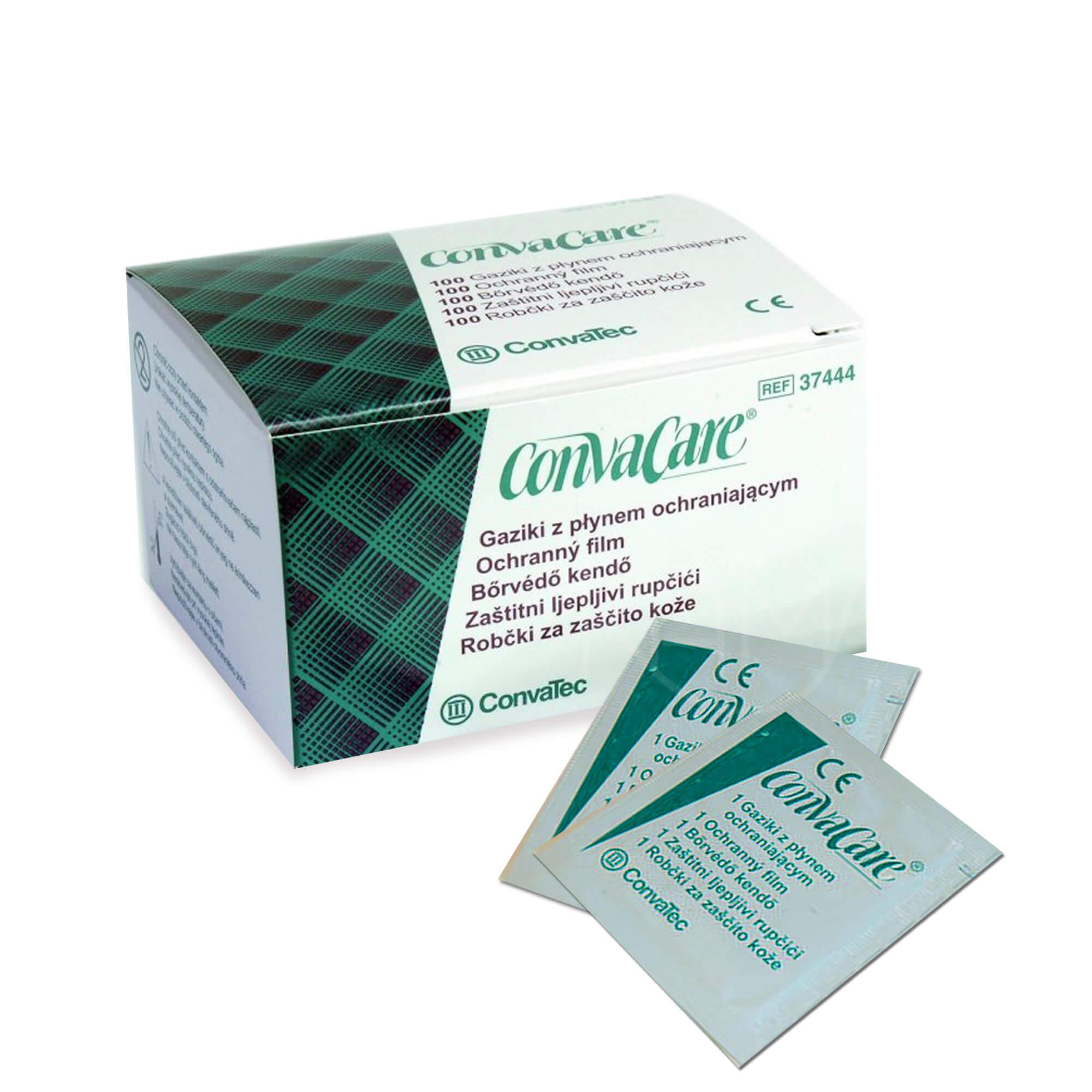 Салфетка КонваКеа для защиты кожи вокруг стомы 3х6 см