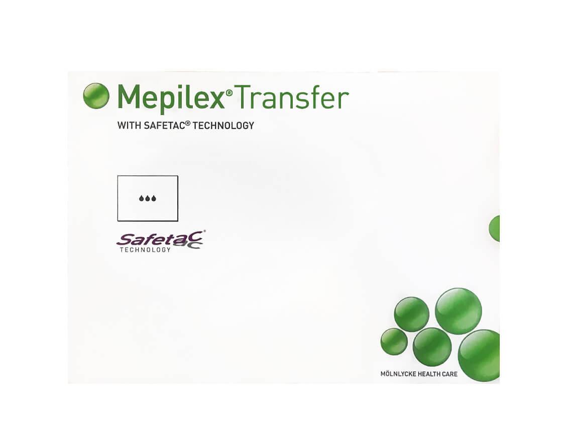 Повязка Мепилекс Трансфер с силиконом 20x50 см