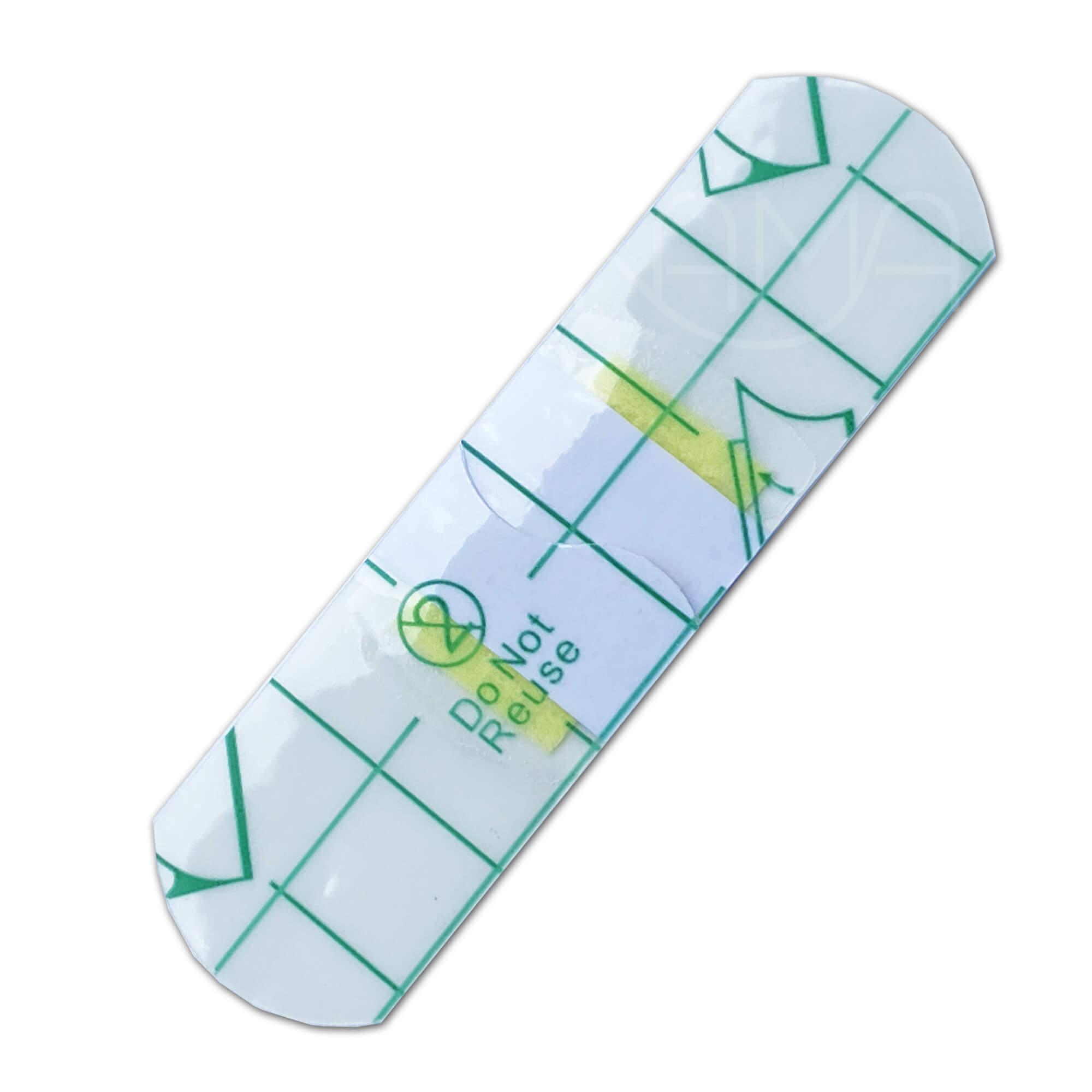 Пластырь водостойкий бактерицидный на полимерной основе Стандарт Ватерпруф прозрачный 19х72 мм, №10