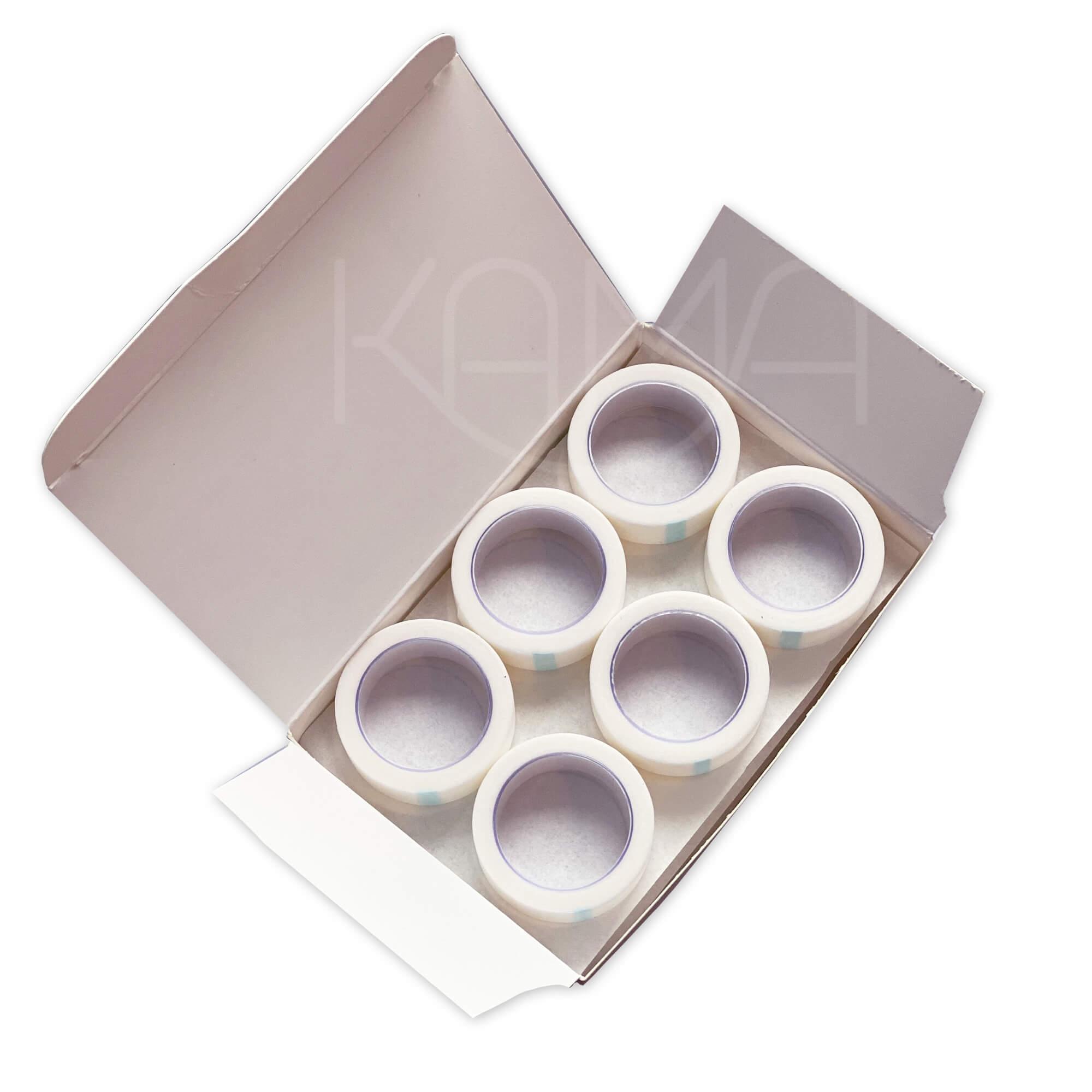 Пластырь на бумажной нетканой основе белый 1,25х500 см, № 24