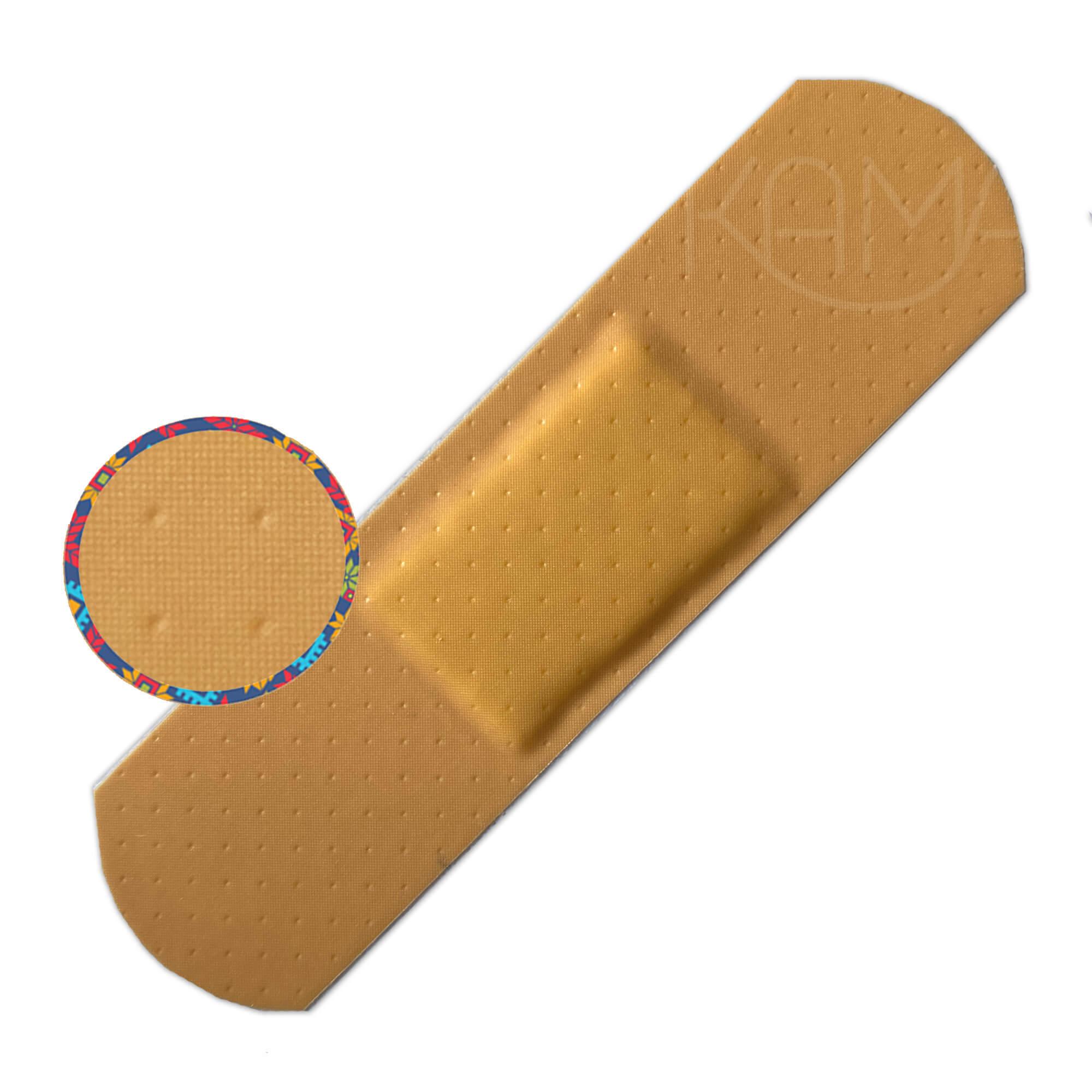 Пластырь бактерицидный на полимерной основе Стандарт Эстетик телесный 19х72 мм, №10
