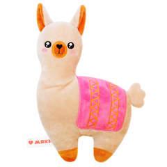 Игрушка-грелка Лама с вишневыми косточками