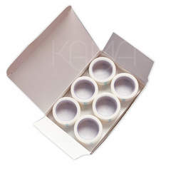 Пластырь на бумажной нетканой основе белый 2,5х500 см  №12
