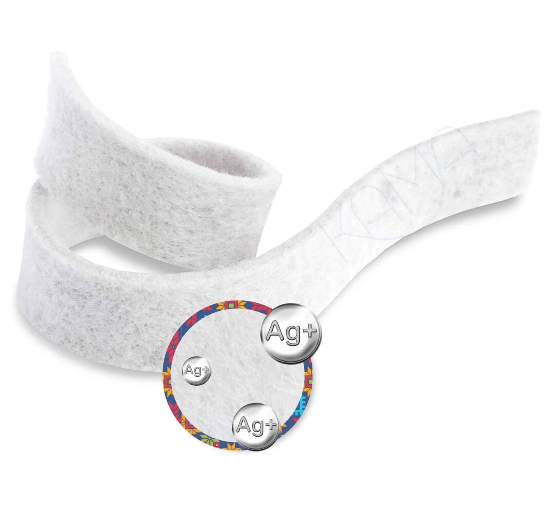 Повязка с серебром гидрогелевая альгинатная АльгоДжелль Аг+ 2х30 см