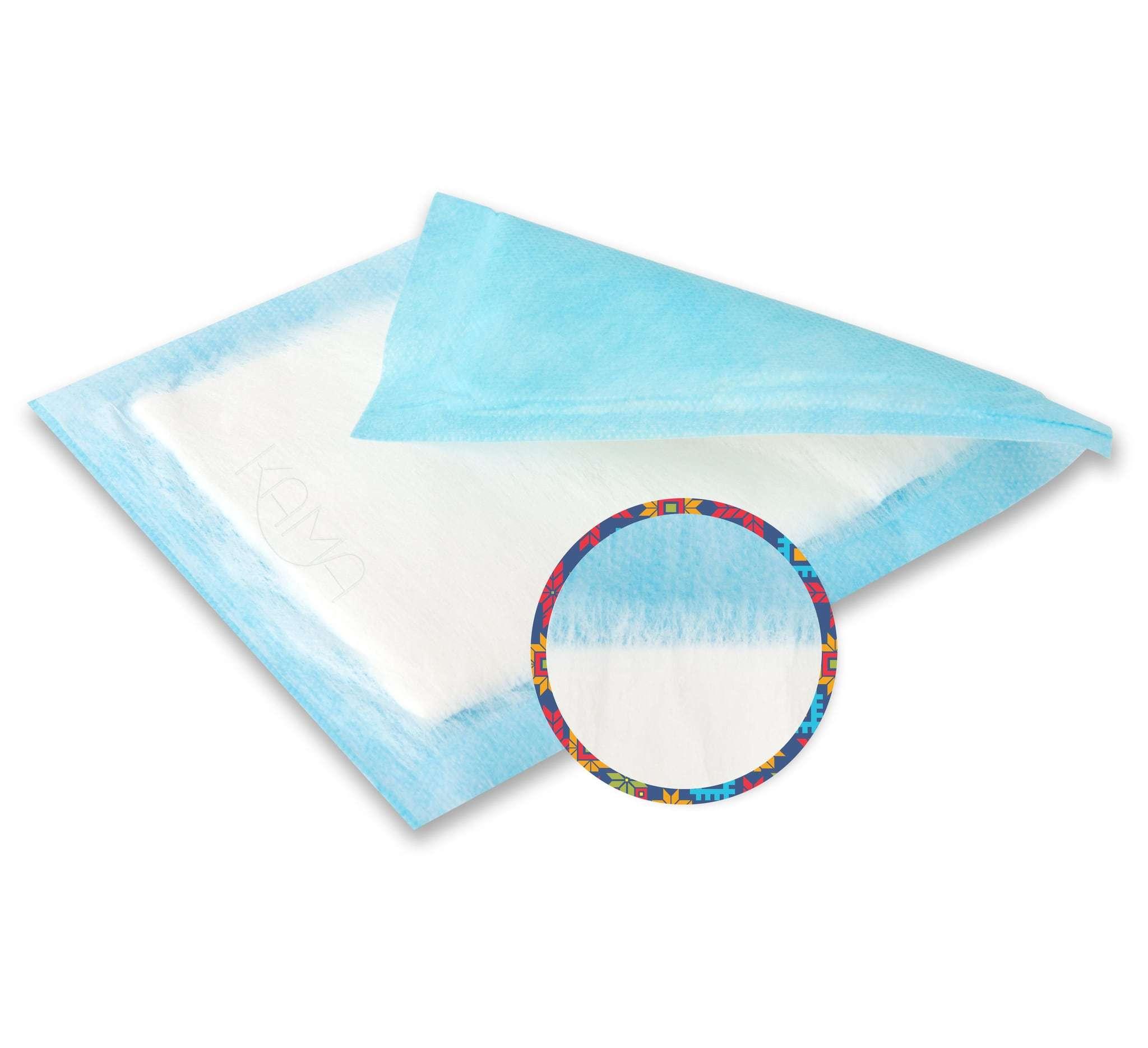 Салфетка нетканая абсорбирующая многослойная ЭкСорб 10х25 см