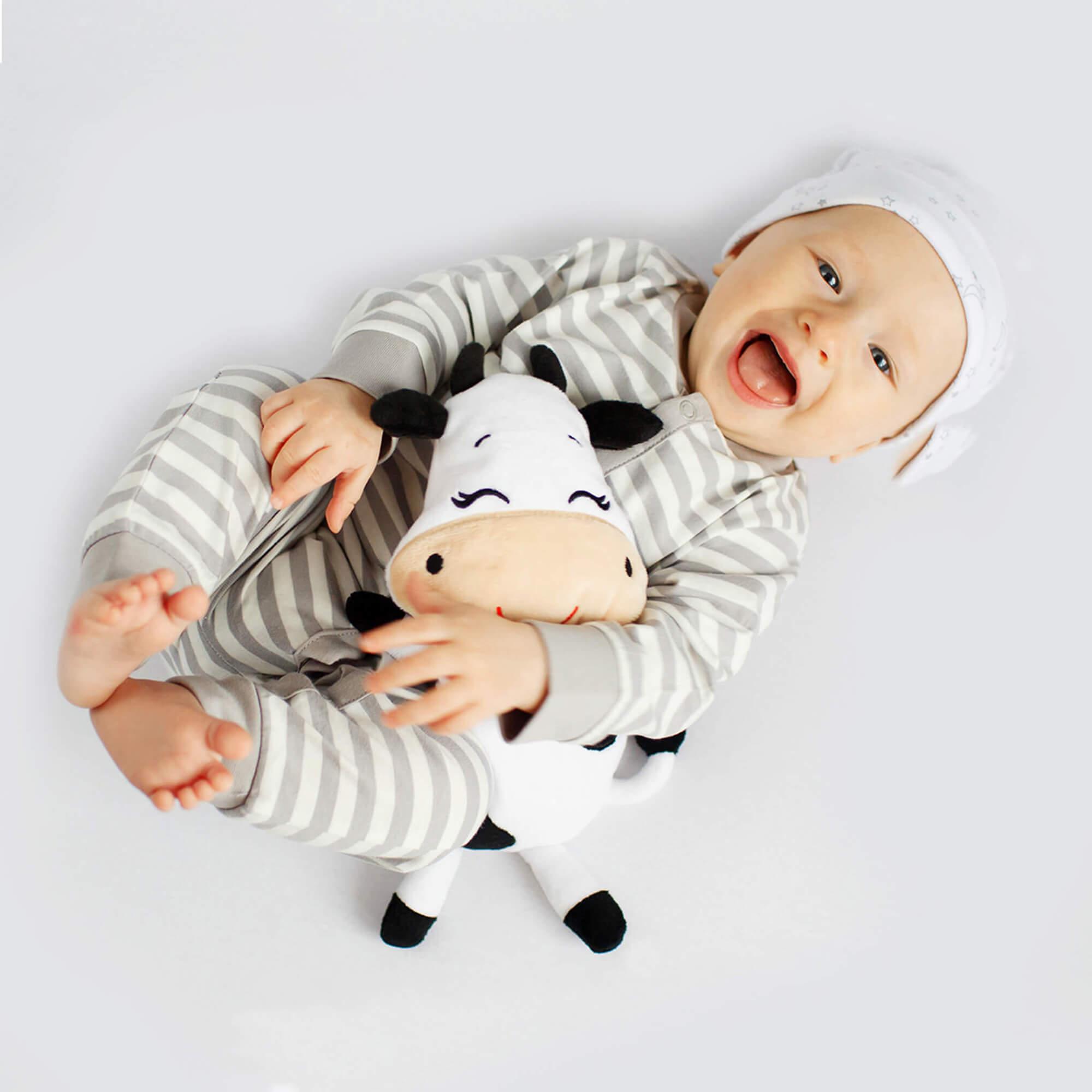 Игрушка-грелка с вишневыми косточками Корова Ася