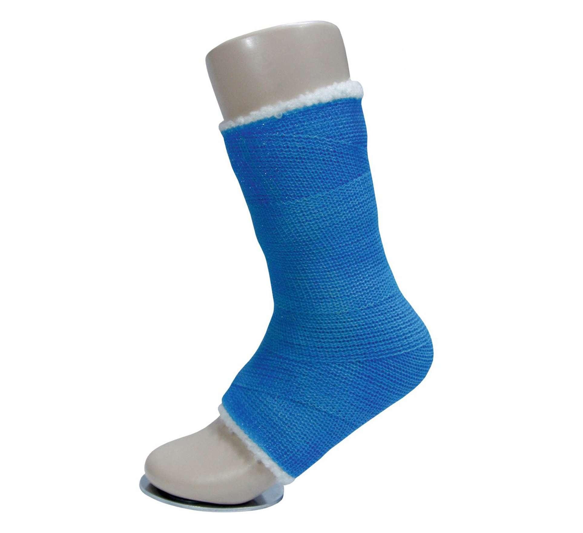 Бинт полимерный Интрарич Каст жесткой фиксации 10см x 3,6м (голубой)