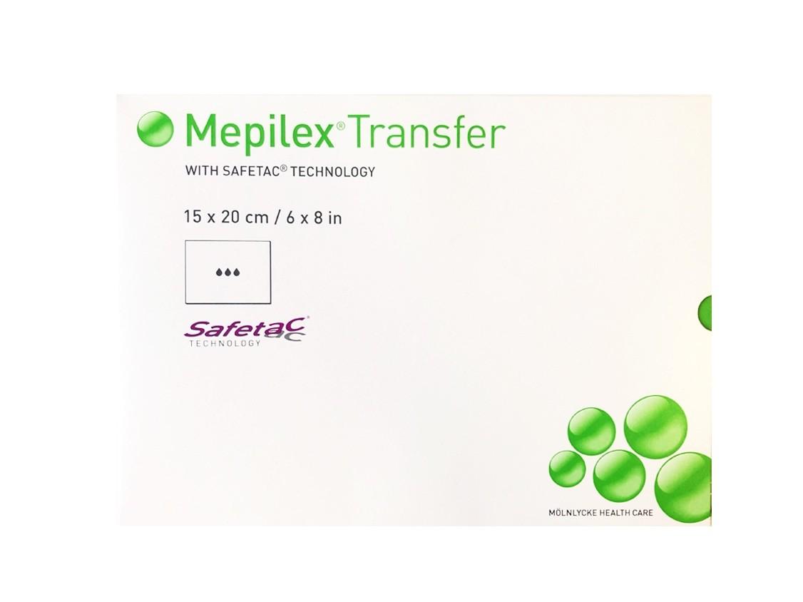 Повязка Мепилекс Трансфер с силиконом 15x20 см