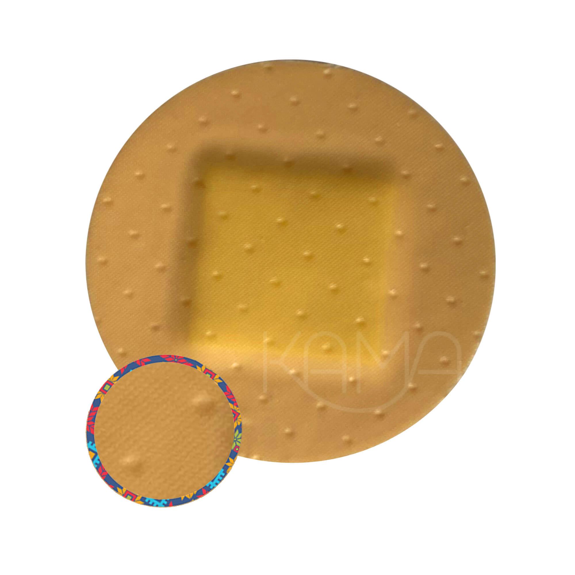 Пластыри бактерицидные на полимерной основе Мультиплекс Эстетик телесные, 3 размера, №15